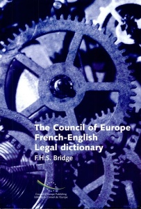 Council of Europe French-English Legal Dictionary