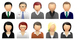 Business & Office Avatars and User Icons