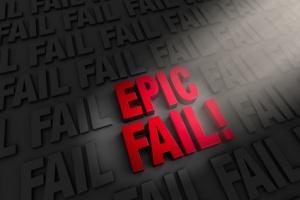 Highlighting An Epic Fail