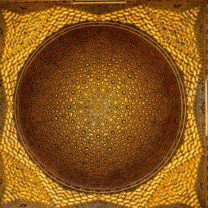 Ceiling, Reales Alcázares de Sevilla