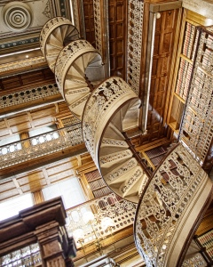 library-stairs